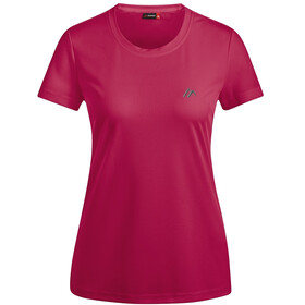 Maier Sports Waltraud Camiseta manga corta Mujer, persian red
